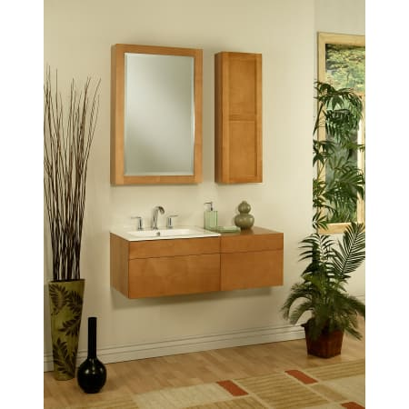 Sagehill Designs Ls1818d Maple Lincoln Street 18 Wall Mount Wood Vanity Cabinet Only Faucet Com