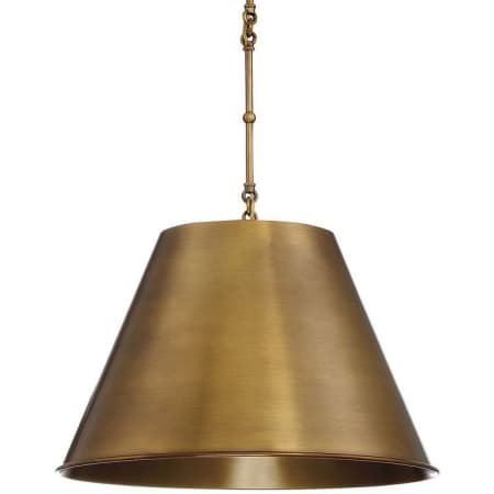 Savoy House Brass Pendant. Get the Look: Scrivano FIXER UPPER Cottage Decor!