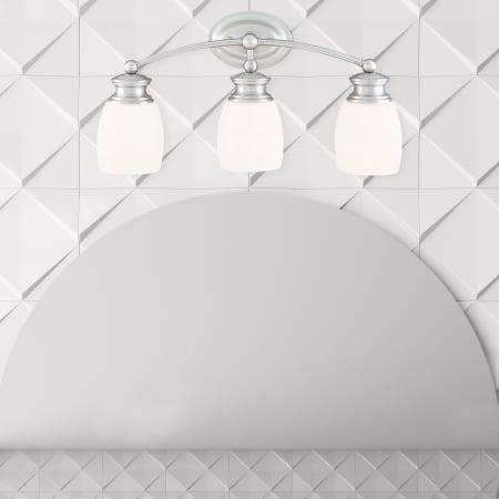 Savoy House Elise 2 Light Bath Bar in Satin Nickel 8-9127-2-SN