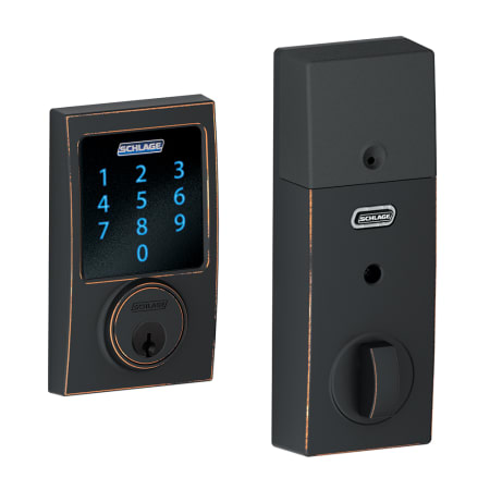 Schlage Be469nxcen716 Aged Bronze Connect Century