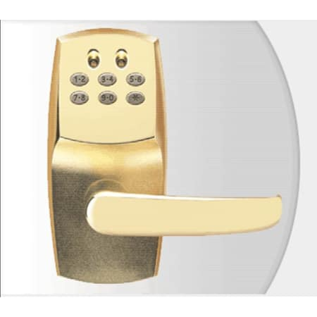 Schlage Mpc60506 Bright Brass Cobra 100 Code Programmable