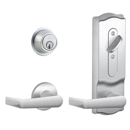 Schlage Cs210sat626cam Satin Chrome Cs200 Series