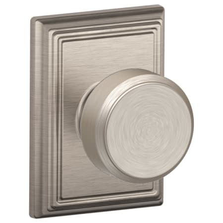 Schlage F10bwe619add Satin Nickel Bowery Passage Door Knob