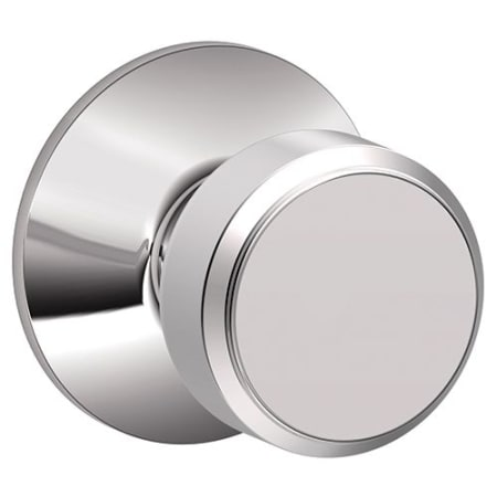 Schlage F10bwe625 Bright Chrome Bowery Passage Door Knob