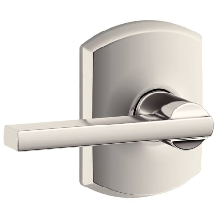 Schlage F10lat618grw Polished Nickel Latitude Passage Door
