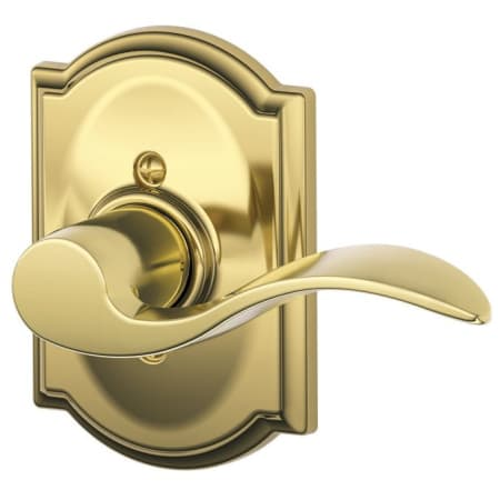 Schlage F170acc605camrh Polished Brass Accent Right Handed