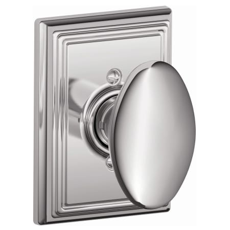 Schlage F170sie625add Polished Chrome Siena Single Dummy