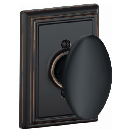 Schlage F170sie716add Aged Bronze Siena Single Dummy Door