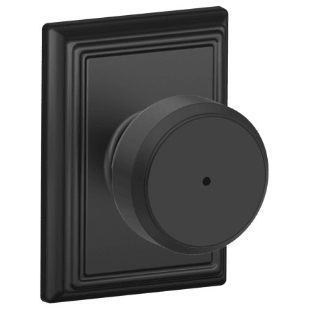 Schlage F40bwe622add Matte Black Bowery Privacy Knobset