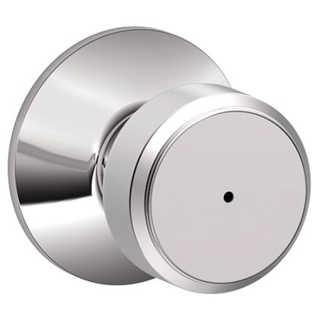 Schlage F40bwe625 Bright Chrome Bowery Privacy Door Knob