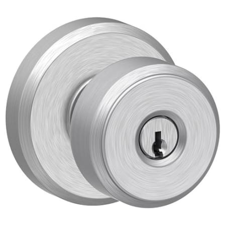Schlage F51abwe626gsn Satin Chrome Bowery Keyed Entry F51a