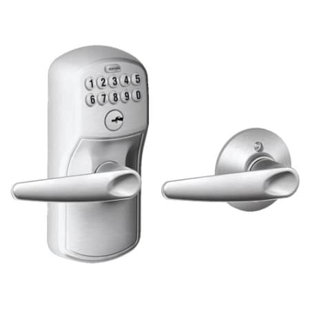 Schlage Fe575ply626jaz Satin Chrome Keypad Entry And Auto