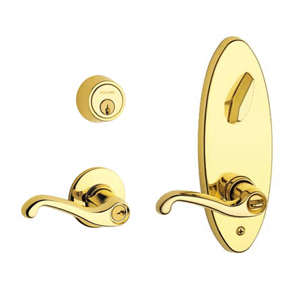 Schlage S280fla605lh Polished Brass S200 Series Commercial
