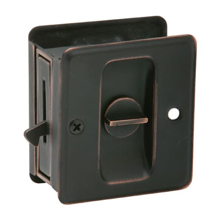Schlage 991b716 Aged Bronze Ives Solid Brass Privacy
