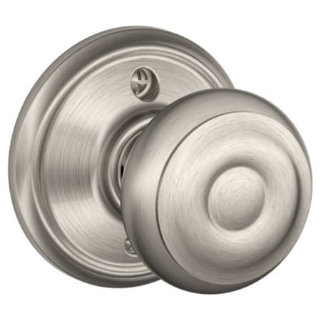 Schlage F170geo619 Satin Nickel Georgian Single Dummy Door