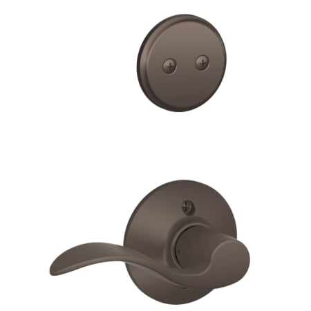 Schlage F94acc613rh Oil Rubbed Bronze Accent Right Handed