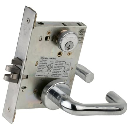 Schlage L9080r 629 Polished Stainless Steel Fire Rated L
