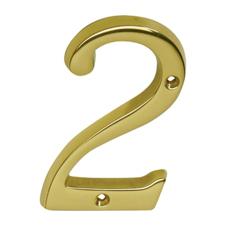 Schlage sc23026716 aged bronze classic house number 2 for Classic house numbers
