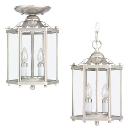 sea gull lighting 5232 02 polished brass bretton 2 light lantern