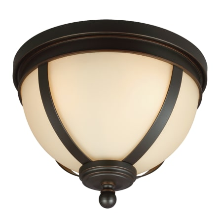 Sea Gull Lighting 7590403-715 Autumn Bronze Sfera 3 Light Flush ...