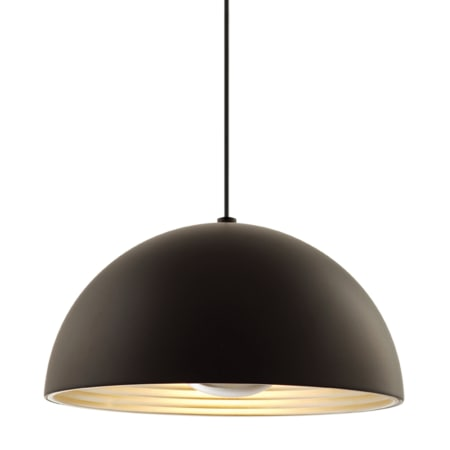 A Large Image Of The Seed Design Dome Pendant Black