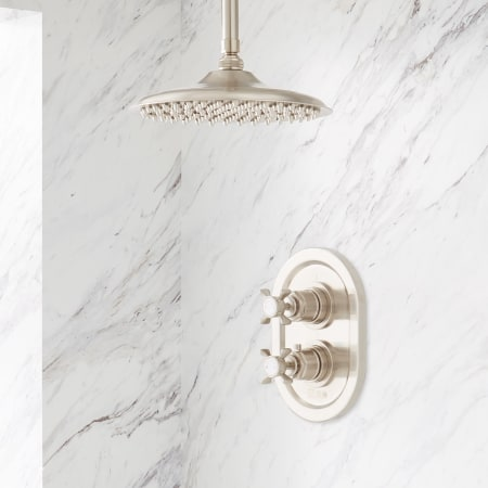 Signature Hardware 431833 Brushed Nickel Waterson Thermostatic