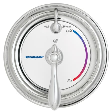 Speakman Sm 3400 Chrome Sentinel Mark Ii Pressure Balance Diverter