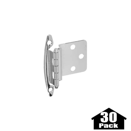 Stanley Home Designs BB8197AB 30PACK Antique Brass 2.75 Inch Non Spring  Cabinet Hinge With .375 Inch Offset   30 Pack   PullsDirect.com