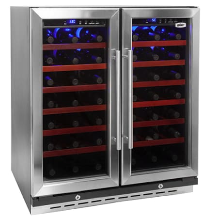 Summit 30 Inch Dual Zone Wine Cooler Swc3066