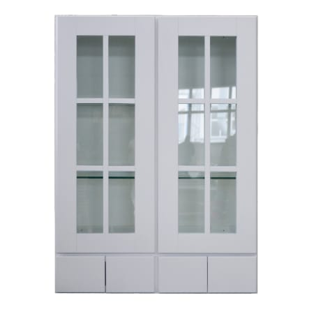A Large Image Of The Sunny Wood Shw3042gd4 Designer White