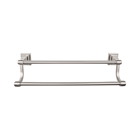Top Knobs Stk7bsn Brushed Satin Nickel Stratton Bath 18 Inch Double