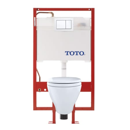 A Large Image Of The Toto Cwt418mfg 2 Cotton