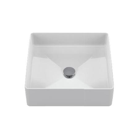 Toto LT Cotton Arvina Square Vessel Bathroom Sink - Toto bathroom fixtures