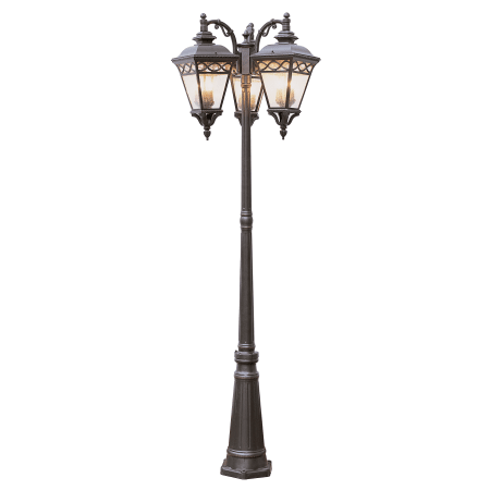 Trans Globe Lighting 50518 Bk Black Three Light Up