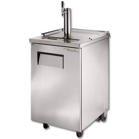 true single keg stainless steel direct draw beer dispenser tdd 1 s