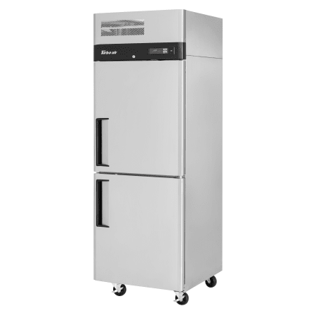 Turbo Air M3r24 2 24 Cu Ft Two Half Door Fridge