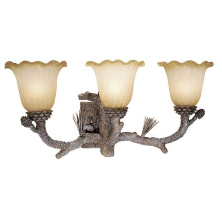 Vaxcel Lighting AS-VLU003PT Pine Tree Aspen 3 Light ...