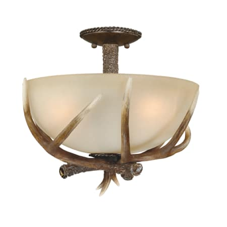 A Large Image Of The Vaxcel Lighting C0020 Black Walnut