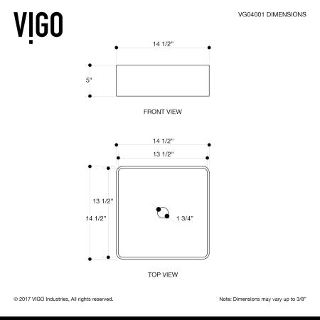 Vigo Vg04001 White Bavaro 14 1 2 Quot Matte Stone Bathroom