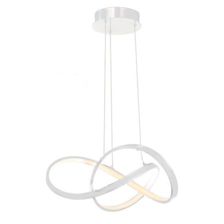 Wac Lighting Pd 87720 Wt White Vornado Single Light 20 Wide