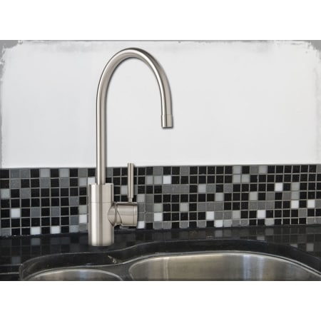 Attractive Waterstone 3800 SS Solid Stainless Steel Parche Kitchen Faucet Single  Handle   Faucet.com