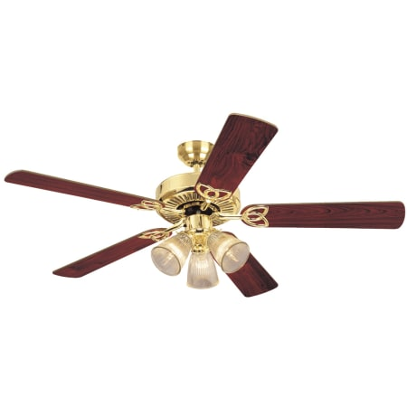 Westinghouse 7804365 Brass And Gold Vintage 52 Quot 5 Blade