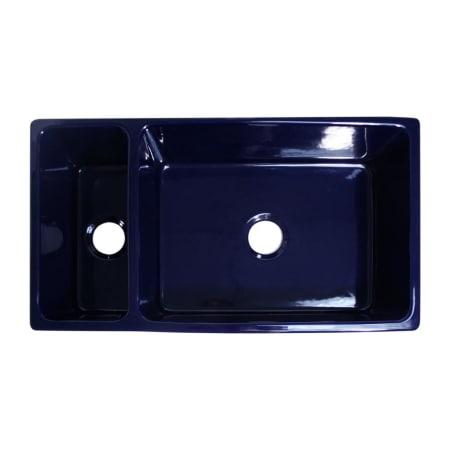 Whitehaus Whqdb542 Blue Sapphire Blue 36 Quot Quatro Alcove