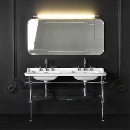 Ws Bath Collections Waldorf 1 Faucet Hole Waldorf Ceramic White 59 1 10