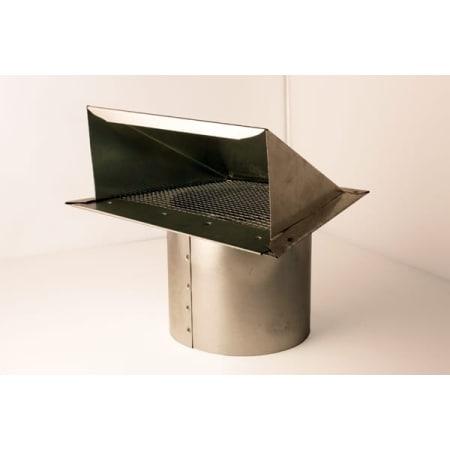 Zephyr Ak00052 Galvanized Steel 10 Inch Round Rain Proof