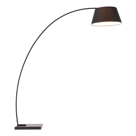 Zuo Modern 50074 Black Vortex 1 Light Floor Lamp With