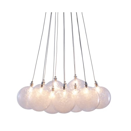 Cosmos 12 Light Pendant With Globe Shade