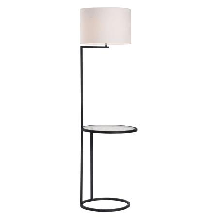 Zuo Modern 50313 White And Black Swift 1 Light Floor Lamp