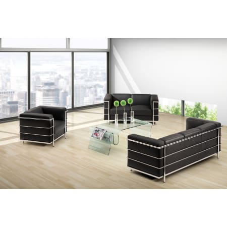 Fantastic Zuo Modern Fortress Sofa Dailytribune Chair Design For Home Dailytribuneorg