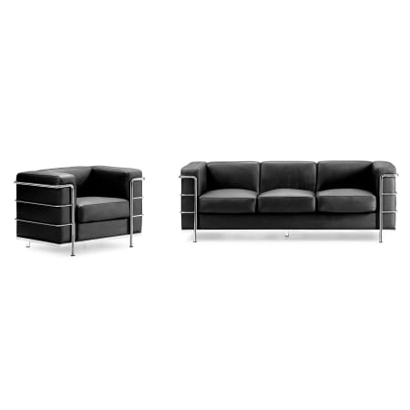 Awesome Zuo Modern Fortress Sofa Dailytribune Chair Design For Home Dailytribuneorg